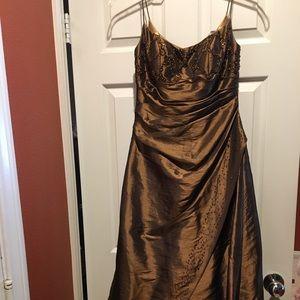 Dresses & Skirts - Copper Prom Dress